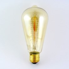 Ampoule décorative à intensité modulable VINTAGE ST64 E27/40W/230V