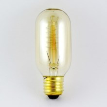 Ampoule décorative à intensité modulable VINTAGE T45 E27/40W/230V