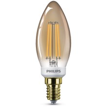 Ampoule dimmable LED VINTAGE Philips B35 E14/5W/230V 2200K