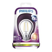 Ampoule LED VINTAGE Philips E14/2,3W/230V