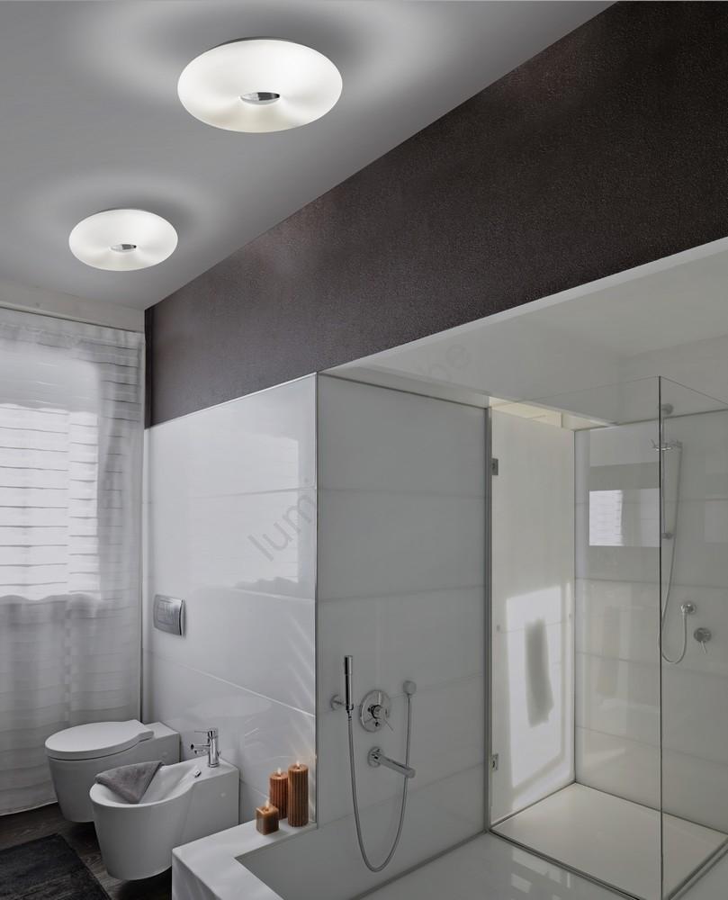 Azzardo AZ1598 - Plafonnier salle de bain OPTIMUS 2xE27/40W/230V IP44