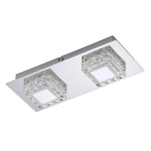 Briloner 3549-028 - Plafonnier LED NOBLE 2xLED/5W/230V