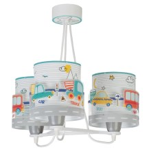 Dalber 61687 - Suspension pour enfant BABY TRAVEL 3xE27/60W/230V