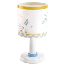 Dalber 62481 - Kinderkamer lamp TEDDY & MOON 1xE14/40W/230V
