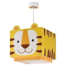 Dalber 64562 - Kinderhanglamp LITTLE TIGER 1xE27/60W/230V