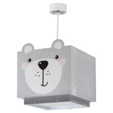 Dalber 64572 - Kinderhanglamp LITTLE TEDDY 1xE27/60W/230V