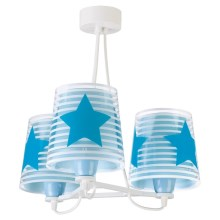 Dalber 81197T - Suspension pour enfant LIGHT FEELING 3xE27/60W/230V