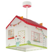 Dalber D-11672 - Suspension pour enfant MY SWEET HOME 1xE27/60W/230V