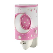 DALBER D-63235LS - LED Kleine lamp tot fitting PINK MOON LED/0,5W