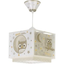 Dalber D-63392 - Hanglamp kinderkamer GOOD NIGHT 1xE27/60W/230V