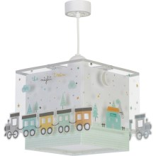 Dalber D-63532 - Suspension pour enfant TRAIN 1xE27/60W/230V
