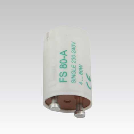Démarreur pour lampe fluorescente SINGLE 4-80W 230V