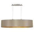 Eglo 31618 - Hanglamp aan koord MASERLO 2xE27/60W/230V