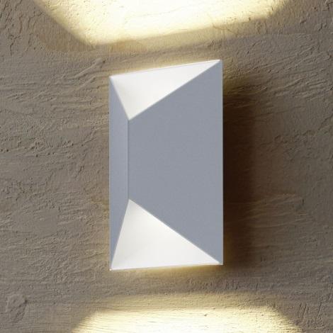 Eglo 54603 - Applique murale LED extérieure PREDAZZO 2xLED/2,5W/230V IP44