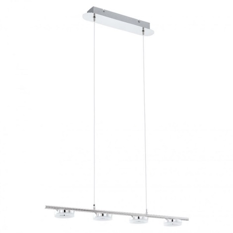 EGLO 75244 - Suspension LED avec fil ODERZO 1 4xLED/3,8W/230V