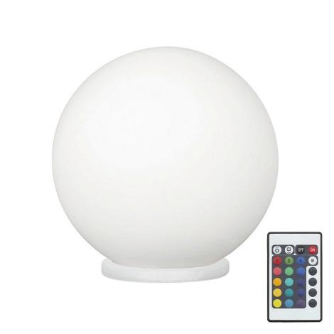 Eglo 79042 - Lampe de table LED RGB à intensité modulable RONDO C 1xE27/7,5W/230V