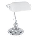 Eglo 90968 - lampe de table  BANKER E27/60W