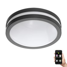 Eglo 97237 - Plafonnier LED à intensité modulable salle de bain LOCANA-C LED/14W/230V