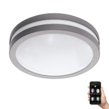 Eglo 97299 - Plafonnier LED à intensité modulable salle de bain LOCANA-C LED/14W gris