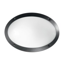 Ideal Lux - Luminaire technique 1xE27/23W/230V noir IP66