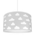 Kinderhanglamp CLOUDS GREY 1xE27/60W/230V