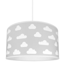Kinderhanglamp CLOUDS GREY 1xE27/60W/230V