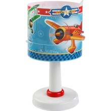 Lampe de table enfant AIRPLANE 1xE14/40W/230V