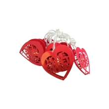 LED Decorartie lichtketting HEART LED/2xAA