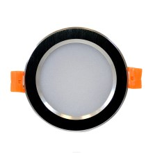 LED Inbouwlamp VENUS LED/7W/230V zwart