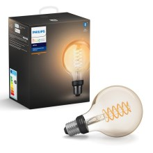 LED Lamp dimbaar Philips HUE WHITE FILAMENT G93 E27/7W/230V