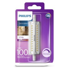 LED Lamp dimbaar Philips R7s/14W/230V 3000K 118mm
