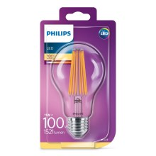 LED Lamp Philips VINTAGE A70 E27/11W/230V 2700K