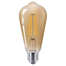 LED Lamp VINTAGE Philips ST64 E27/5,5W/230V