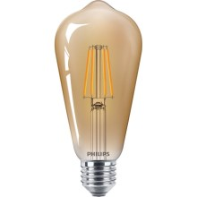 LED Lamp VINTAGE Philips ST65 E27/4W/230V