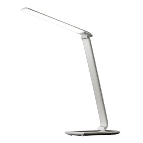 LED Tafellamp dimbaar USB lader LED/12W/230V wit