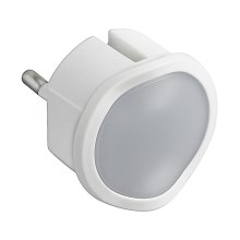 Legrand 50678 - Lampe d'urgence LED à intensité modulable à brancher LP9 LED/0,06W/230V