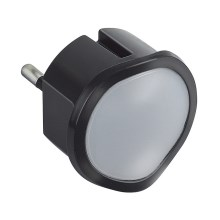 Legrand 50679 - Lampe d'urgence LED à intensité modulable à brancher PL9 LED/0,06W/230V