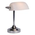 Lucide 17504/01/11 - lampe de table BANKER 1xE14/ESL 11W/230V