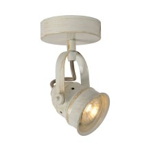 Lucide 77974/05/21 - Spot LED CIGAL 1xGU10/5W/230V blanc antique