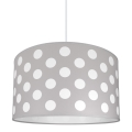 Lustre enfant DOTS GREY 1xE27/60W/230V