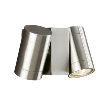 Massive 17071/47/10 - Buiten wandlamp KINGSTON 2xGU10/35W/230V IP44