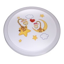 MW-LIGHT - LED Plafondverlichting kinderkamer SMILE LED/30W/230V