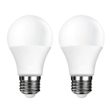 PACK 2x Ampoule LED E27/5W/230V 4000K