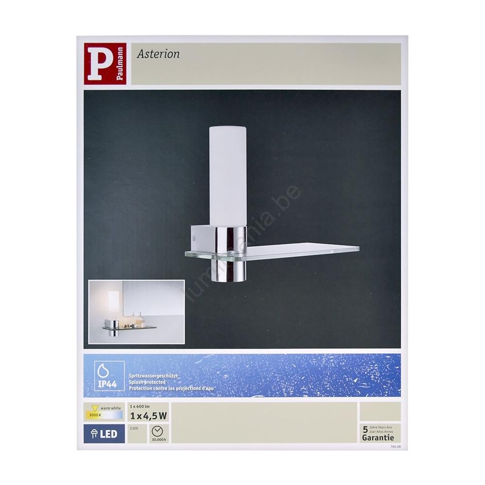 Paulmann 70608 - LED Eclairage LED pour miroir salle de bain ASTERION  LED/4,5W/230V