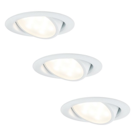 Paulmann 92091 - SET 3x LED Inbouwspot 3xLED/4,2W/230V