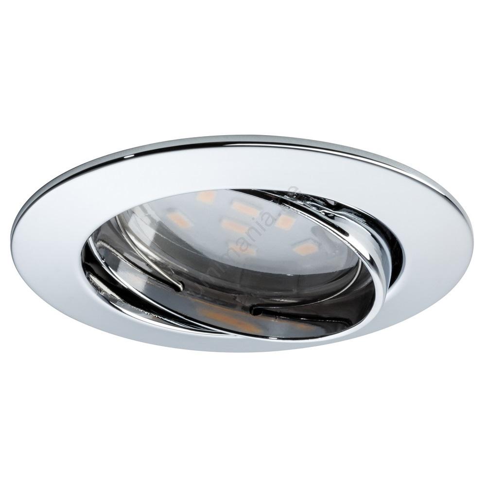 Spot Au Dessus Lavabo paulmann 92820 - led/7w spot dimmable à encastrer salle de bain coin 230v