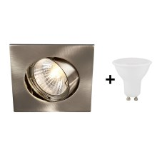 Philips 59780/17/12 - Spot encastrable LED BOMBAY SQUARE 1xGU10/4W/230V