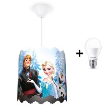 Philips 71751/01/16 - LED Hanglamp kinderkamer DISNEY FROZEN 1xE27/9W/230V