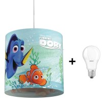 Philips 71751/90/16 - Suspension pour enfant LED DISNEY FINDING DORY 1xE27/8,5W/230V