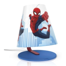 Philips 71764/40/26 - LED Tafellamp voor kinderen MARVEL SPIDER MAN LED/3W/230V